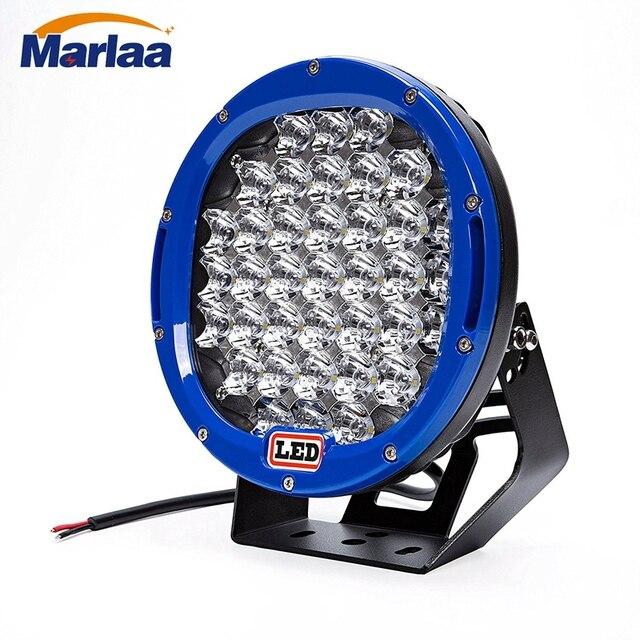 1pcs 185w Spot LED Work Light Off Road LED Light Bar 12v Driving Lights Flood Light for Jeep Cabin Boat SUV Truck Car ATV