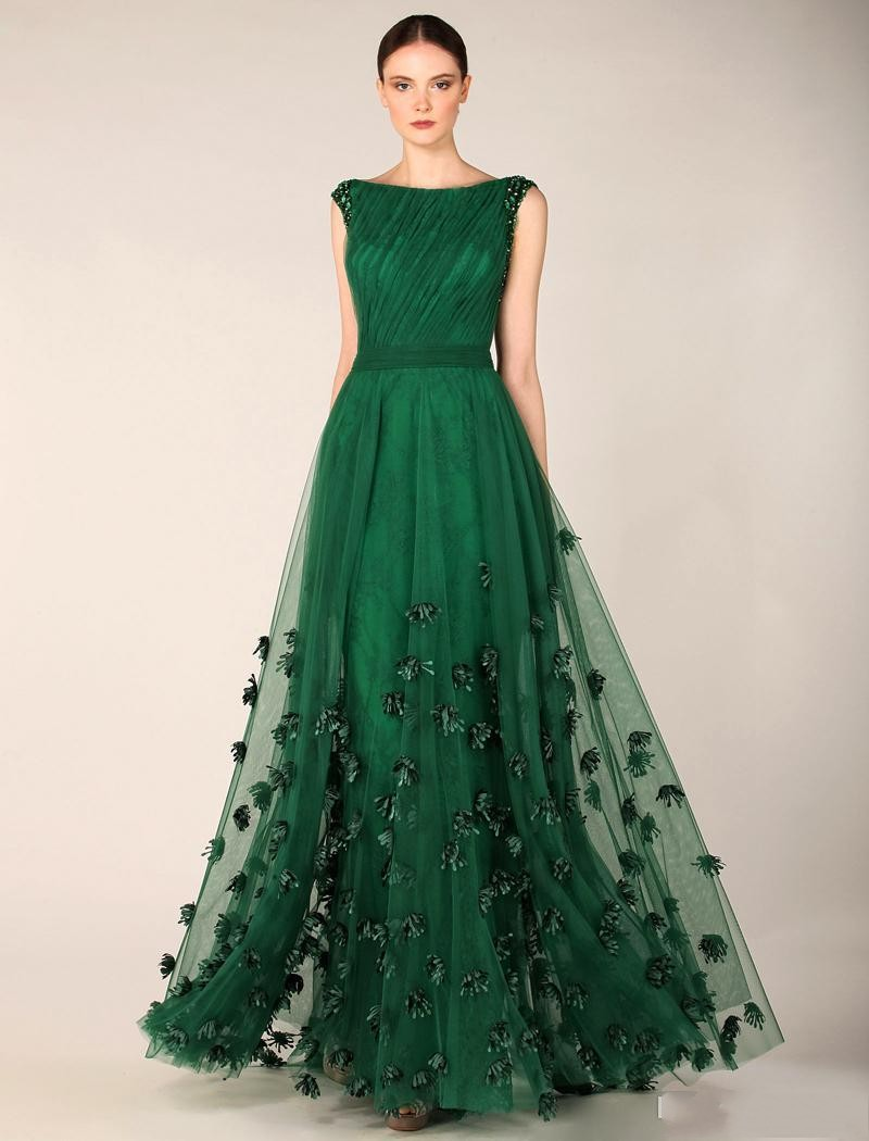Popular Forest Green Prom Dress-Buy Cheap Forest Green Prom Dress ...