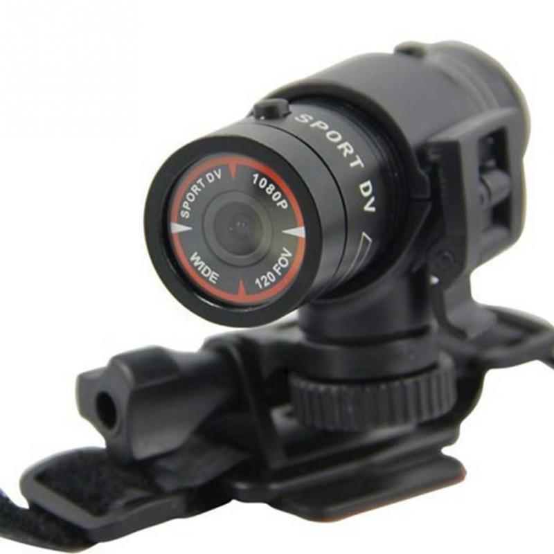 NUEVA FULL HD 1080 P 3MP AVI Pequeño Aluminio Deporte Anti-Tiempo de Acción Casc