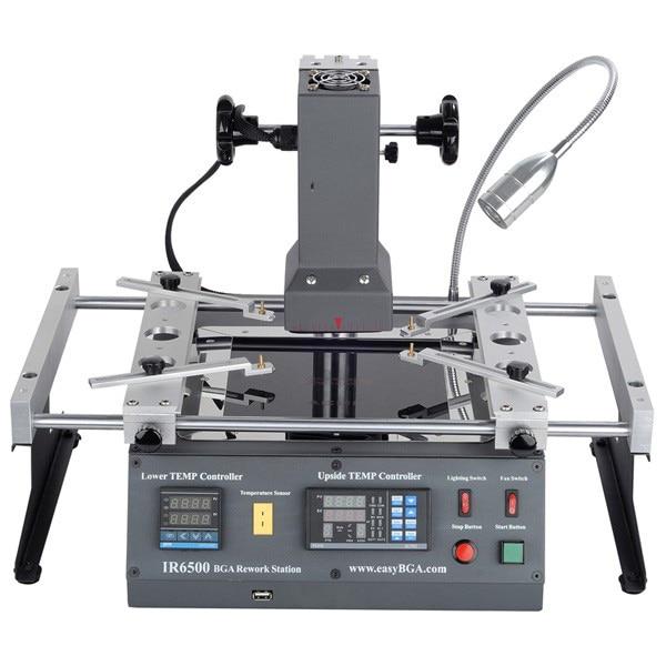 ACHI IR6500 infrared BGA Soldering Rework Station For Motherboard Chip PCB Refurbished Repair System Solder Welding
