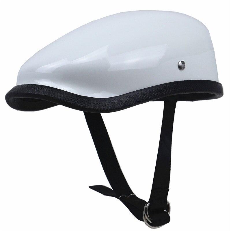 Freizeit stil motorrad helm hälfte gesicht retro motorrad helm vintage Berets Design licht gewicht für mann und frau