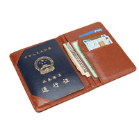 New Fashion Passport Holders Cover Quality PU Leather Travel Ticket Pouch Credit Cards Holders Passport Covers