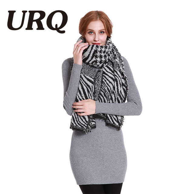 Long Very Warm Plaid Scarf For Women Winter Scarves Soft Light Knitting Scarf Fashion Brand Design Shawl Wrap 2017 New Brand