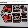 32mm FOX aufkleber Geeignet für mountain bikes Gabel Suspension Fahrrad stecker 26 27 5 29 zoll-in Fahrrad Gabel aus Sport und Unterhaltung bei