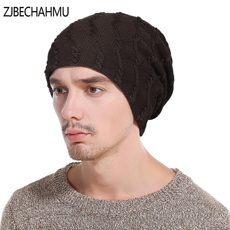 2017 New Winter Hats For Men Bonnets Beanies Cap Women Knitted Striped Thick Skullies Double Layer Add Velvet Warm Gorros unisex letter dragon winter hats skullies beanies men woman beanie knitting hat knitted cap new design invierno bonnets gorros