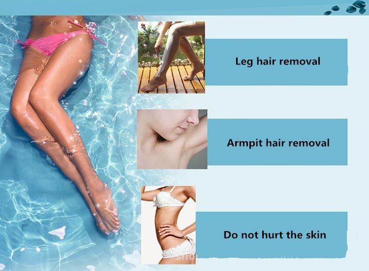 8pcs Razor Blades + 1pcs Handle,Female Shaving Razor Blade For Women Body Hair Trimmer Women' Shaver Sharpener Razor Epilator 5