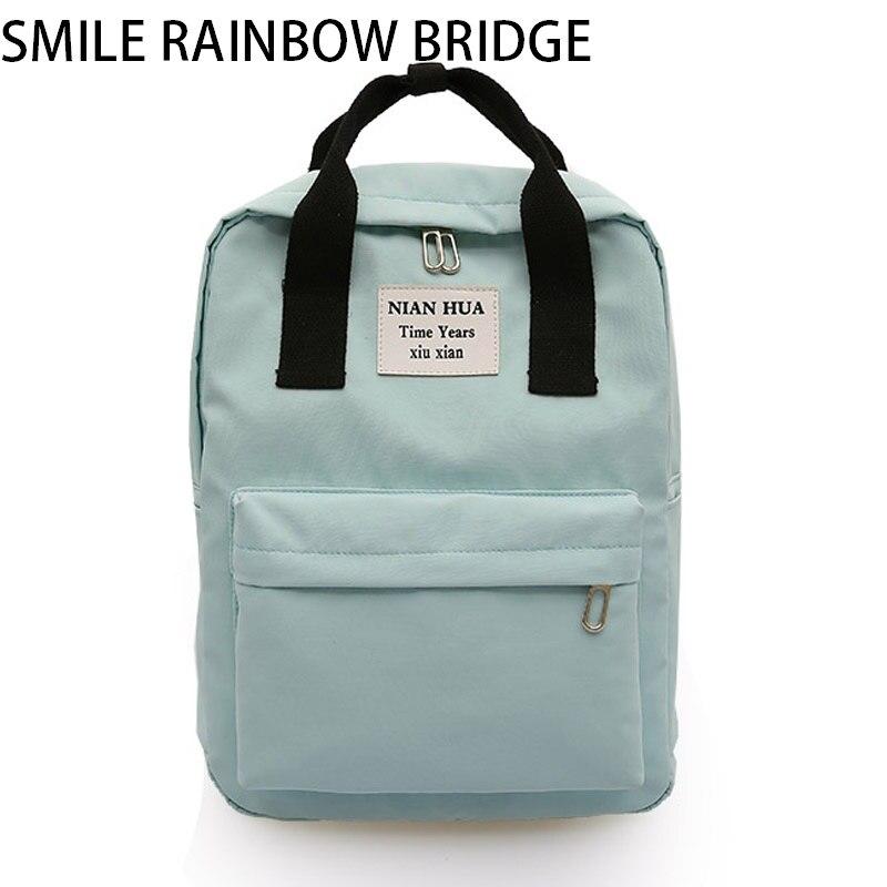 Бренд Большой Леди Мода 13-дюймовый ноутбук рюкзак Для женщин школьные рюкзаки туристические Повседневное леди плечо Mochila Многофункциональ...