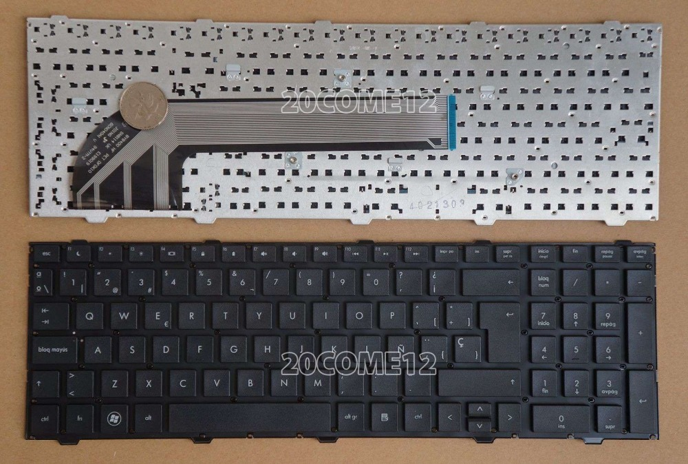 New notebook Laptop keyboard for   HP ProBook 4540s 4545s  No Frame SP  layout laptop keyboard for hp probook 4510s 4515s black without frame farsi sn5092 sg 33200 80a