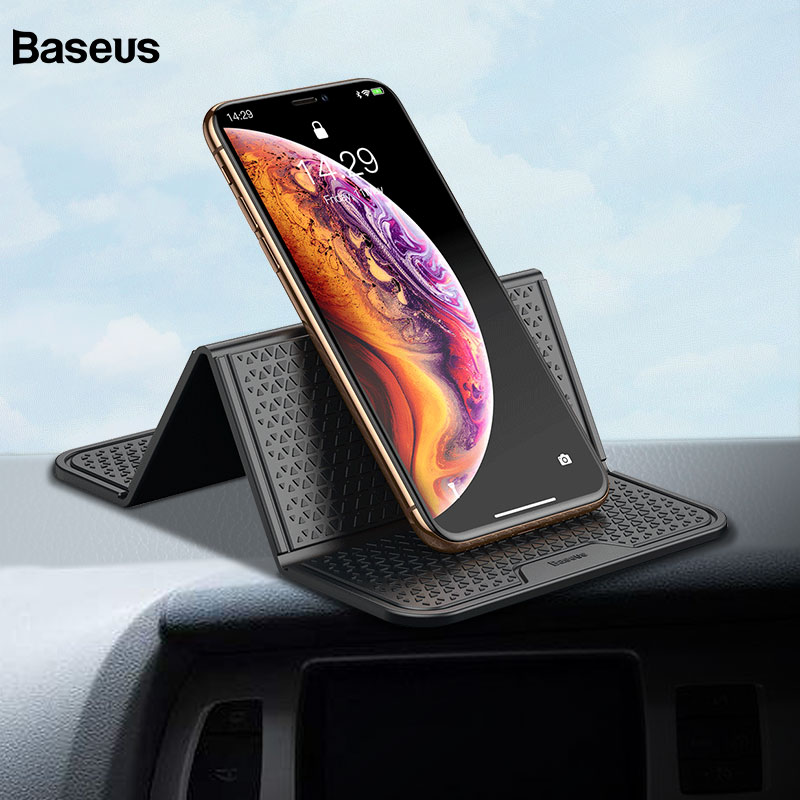Baseus Universal Sticker Car Phone Holder Stand Multi-Function Nano Rubber Pad For iPhone Cell Phone Mount Car Holder SupportBaseus Universal Sticker Car Phone Holder Stand Multi-Function Nano Rubber Pad For iPhone Cell Phone Mount Car Holder Support