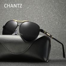 Солнцезащитные очки пилота мужские Поляризованные ретро металлические мужские очки для вождения Okulary классические Оттенки UV400 lunetes De Soleil Homme