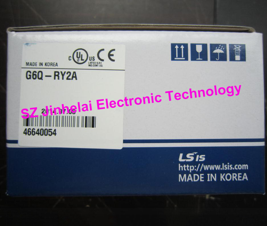 100% New and original G6Q-RY2A LS(LG) PLC 16 point output 100% new and original g6q tr4a ls lg plc controller