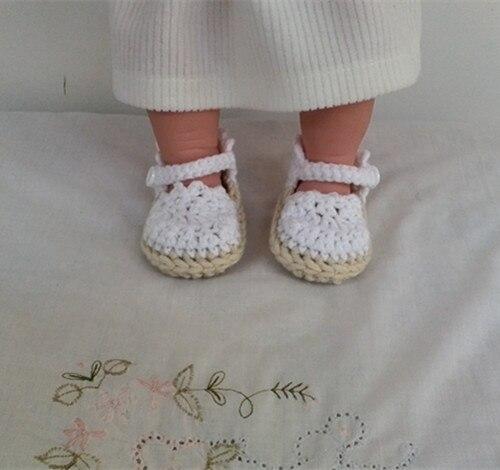 Suave del Bebé del ganchillo Zapatos De Alpargata Sandalias para  niñas(China (Mainland)
