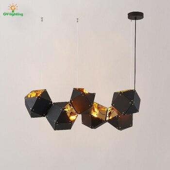 Nórdicos lamparas de techo colgante moderna arte hanglamp ADN diseñador de  iluminación lámpara industrial lámpara de Navidad decoraciones para el hogar 56c1b849617