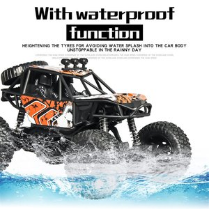 S-003 1/20 Scale 2.4Ghz 4WD High Speed RC Crawler Climber Buggy Off-Road Rock RC Remote Control Car Model RTR with Waterproof