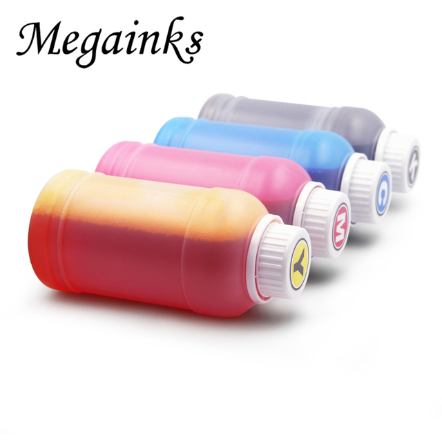 250 ml/בקבוק אוניברסלי צבע מילוי דיו ערכת עבור Canon עבור Epson עבור HP אח הזרקת דיו מדפסת שחור C M Y & 100 ml ערכת ניקוי