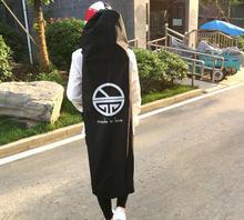 ความยาว 110/120 เซนติเมตร Longboard สเก็ตบอร์ดกระเป๋าเป้สะพายหลังสีดำผ้าใบที่มีสายรัด