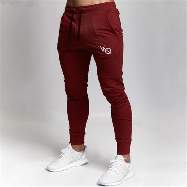 d32ff53fd7a Vanquish 2018 nuevos gimnasios ropa en pantalones de hombre moda Jogger  pantalones Skinny casual Pantalones de