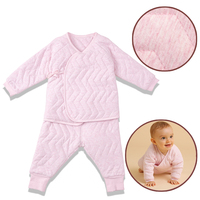 i baby Premium Color Yarn Matelasse PIMA COTTON Baby Outfit Set Cashmere Like Cotton Romper Set Long Sleeve Newborn Bodysuit Set
