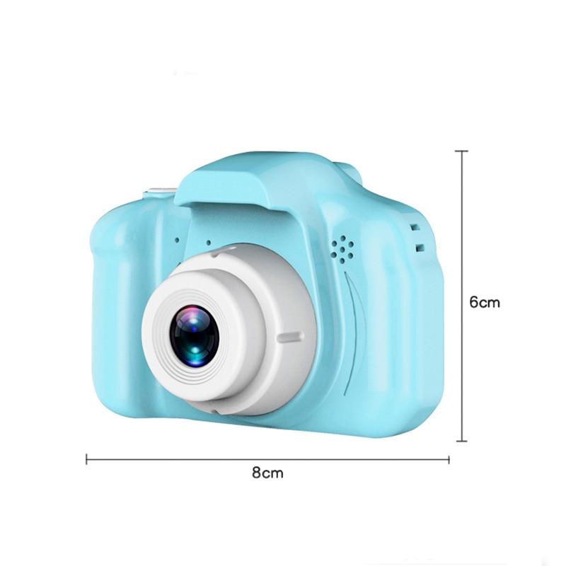 1000mAh Lithium battery Mini Kid Cameras 5MP Digital Camera 1080P Children Baby Digital Portable Cute Neck Child Camcorder in Digital Photo Frames from Consumer Electronics