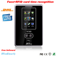 DHL ZKteco Биометрические tcp/ip USB распознавать лица Время посещения система время записи ZK VF300 время часы программного обеспечения и SDK