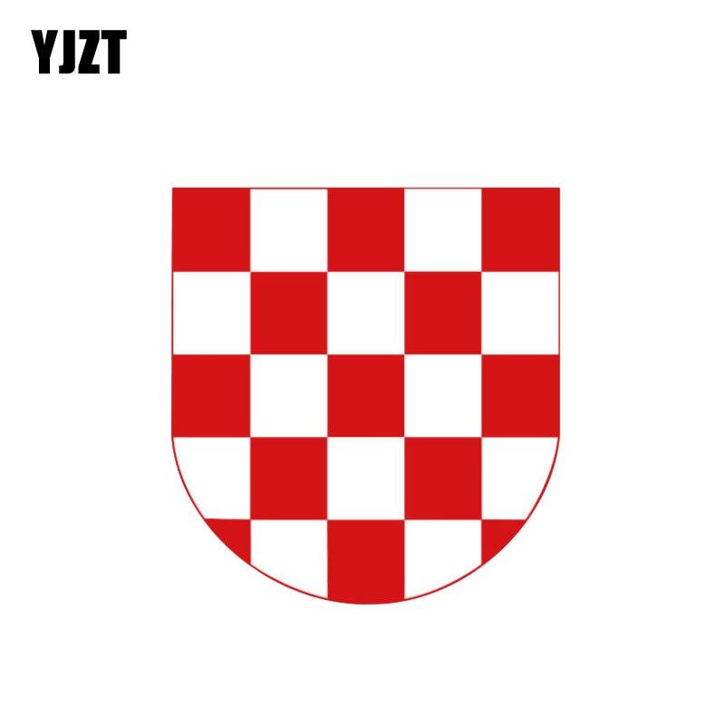 Sticker coat of arms flag car vinyl decal outdoor bumper shield belgium wallonia
