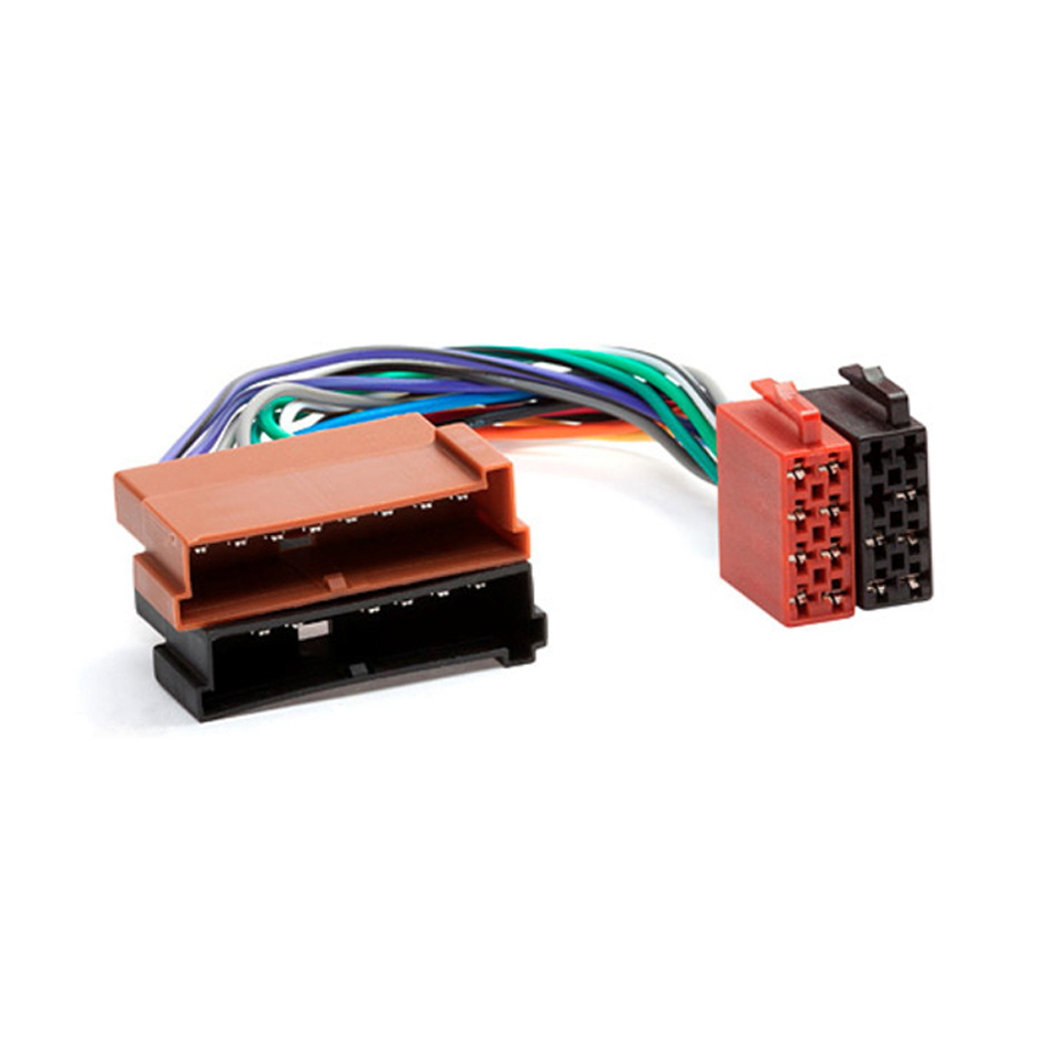 font b Car b font font b Stereo b font ISO Wiring Harness For font online get cheap car stereo ford connector aliexpress com Ford F-150 Radio Wiring Coloring at n-0.co