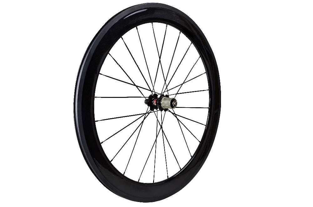 Roues en carbone de haute qualité 700C 60mm roues de vélo de route vélo paire de roues