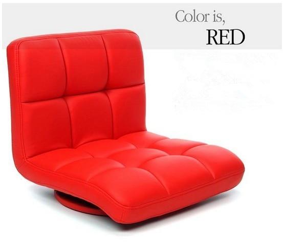 Rood Lederen Draaistoel 360 Graden Rotatie Woonkamer Meubels Japanse ...