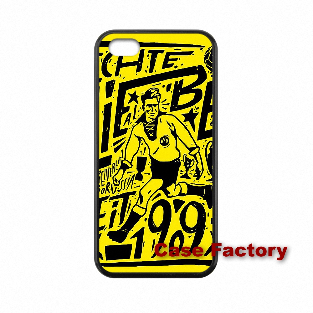 For Xiaomi Mi3 Mi4 Redmi Note 2 Samsung A3 A5 A8 J2 J3 S3 S4 S5 mini Minion Borussia Dortmund BVB accessories Case