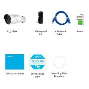 Image 5 - Reolink RLC 410 5MP poe ipカメラ5MP hd屋外防水赤外線ナイトビジョンセキュリティビデオ監視sdカードスロット