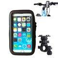 Bicicleta soporte para teléfono para samsung galaxy note/note 2/s3/s4/i9200 para iphone 4s/5s caso wateproof bolsa de titular