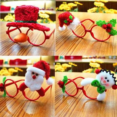 Cute Children Christmas Photobooth Props Christmas Kids Glasses