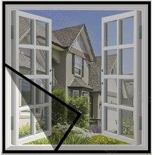 DIY москитная сетка окно экран Невидимый стекловолокно анти-сетка от комаров сетка на окно, настраиваемый