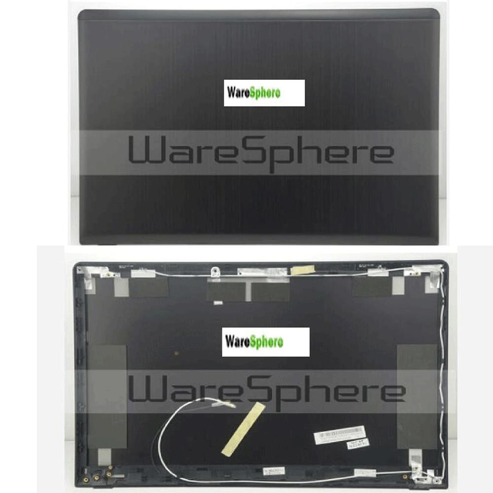 ახალი LCD უკანა ყურის უკანა ყუთი Asus N56JN 13NB04Z1AM0201 შავი