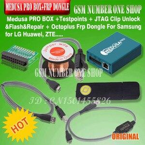 Image 2 - Nowy medusa pro box zestaw Medusa pudełko + octoplus frp klucz sprzętowy + JTAG klip MMC dla LG dla Samsung dla huawei ZTE z Optimus kabel