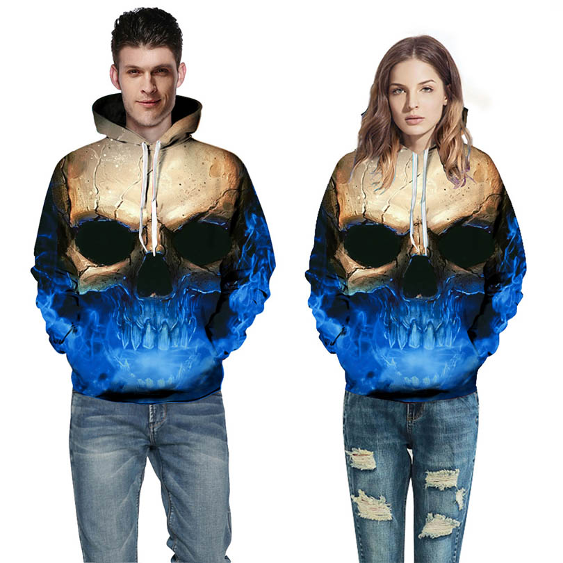 3D Print Hoodie Women Unisex Hooded Sweatshirts Casual Autumn Hooded Tops Colorful Universe Printing Sweatshirts For Men/Women