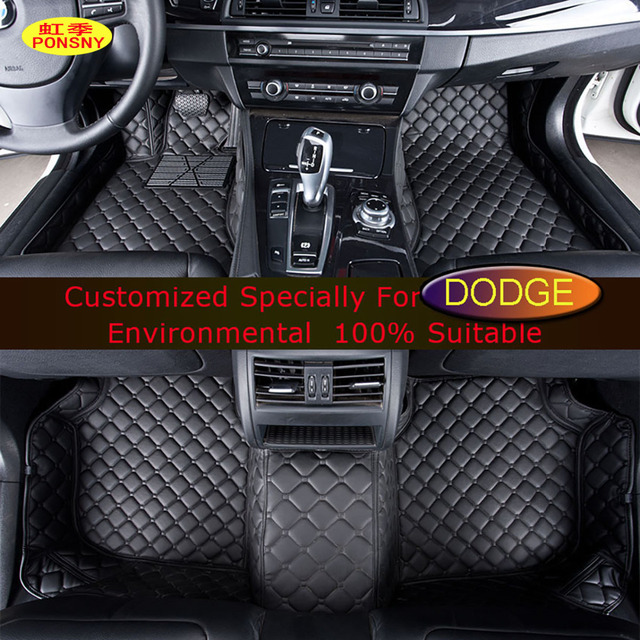 Ponsny Car Floor Mats For Dodge Ram Caravan Journey