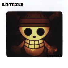 New High Quality One Piece Skull Anime Mouse Pad Durable Optics Gaming Mouse Pad Soft Rubber Desktop Pad Game Player Mats