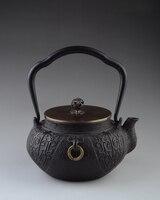 Чугунные Чай горшок набор японский Чай горшок Tetsubin чайник Посуда для напитков 1300 мл кунг фу infusers Пособия по кулинарии Кухня Инструменты нат