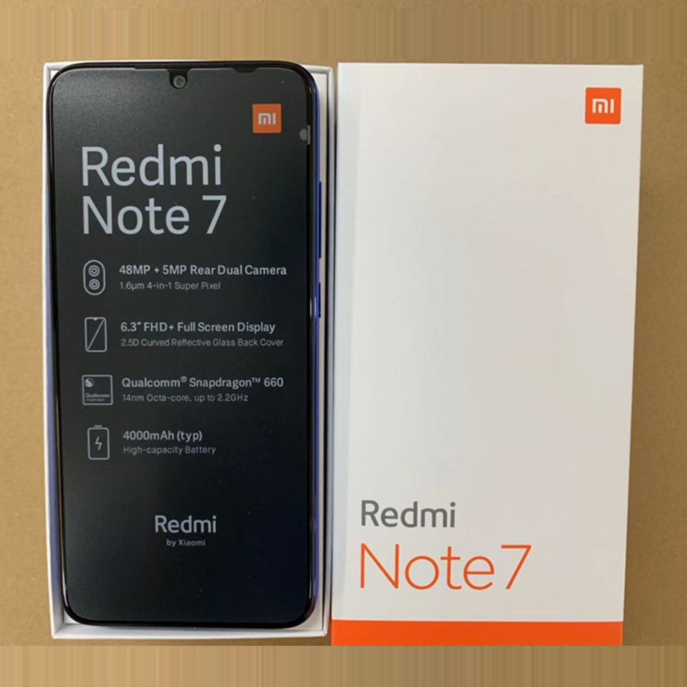 "Image 5 - Global Version xiaomi Redmi Note 7 3GB RAM 32GB ROM cellphone Snapdragon 660 Octa Core 6.3"" 19.5:9 Full Screen 48MP Dual Camera-in Cellphones from Cellphones & Telecommunications"