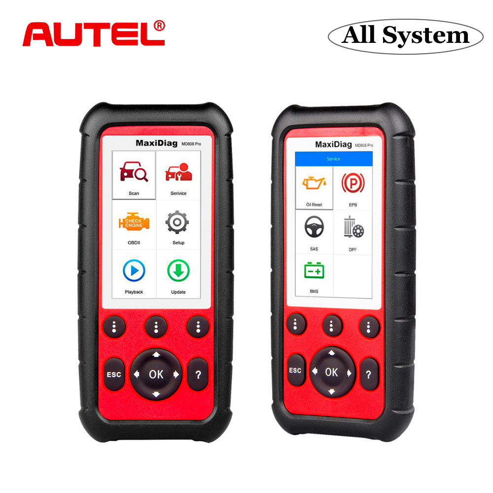 Autel MaxiDiag MD808 Pro OBD2 Auto Scanner Diagnostic Tool OBD 2 Car Diagnostic Scanner Eobd Automotivo Automotive Scan Tools-in Code Readers & Scan Tools from Automobiles & Motorcycles