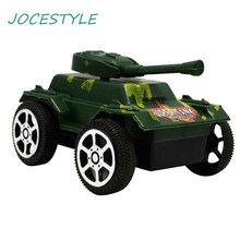 Plastic Camouflage Tank Toys Pull Back Armored Vehicle Kids Model Toy Cars for Boy Kids Mini Diecast Alloy Model Car Truck Gift(China)