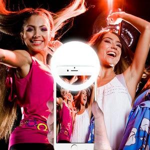 Image 2 - USB Rechargeable Fill Light 36 Leds Camera Enhancing Photography Selfie Ring Light for smartphone Selfie Flash Light