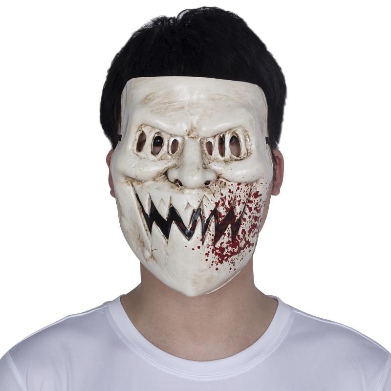 Horror Kiss Me The Purge 3 Full Mask Election Year Cosplay Helmet Halloween Prop