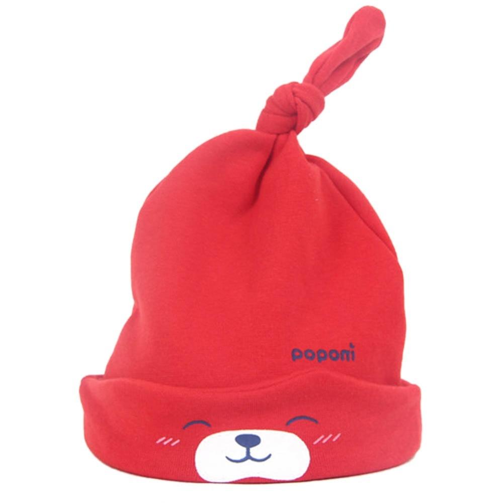 Spring  Sleep  Headwear Unisex Winter Warm   Beanie Cap Dot Cotton   Baby Hat