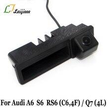 Ручка багажника автомобиля камера для Audi A6 C6 4F S6 RS6 2005~ 2011/автоматическая камера заднего вида для Audi Q7 4L 2005~ 15