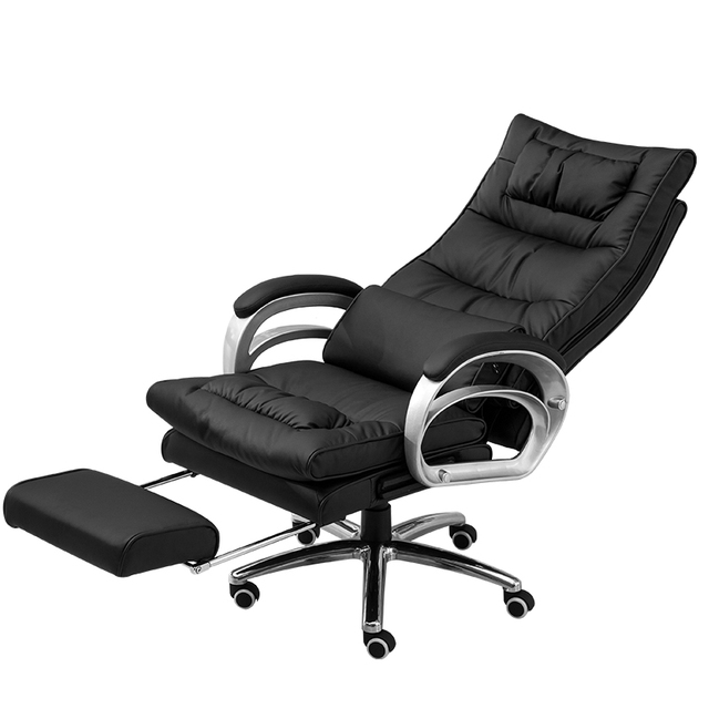 reclining gaming chair covers for chairs with arms wedding multifunction office lifted rotated seat footrest massage computer boss stool simple household