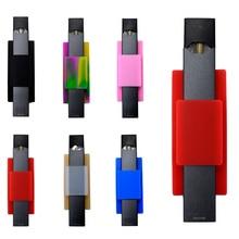 Yunkang силиконовые чехлы для JUUL мобильного телефона сзади стикеры силиконовый чехол держатель электронная сигарета аксессуары для электронных сигарет Лидер продаж