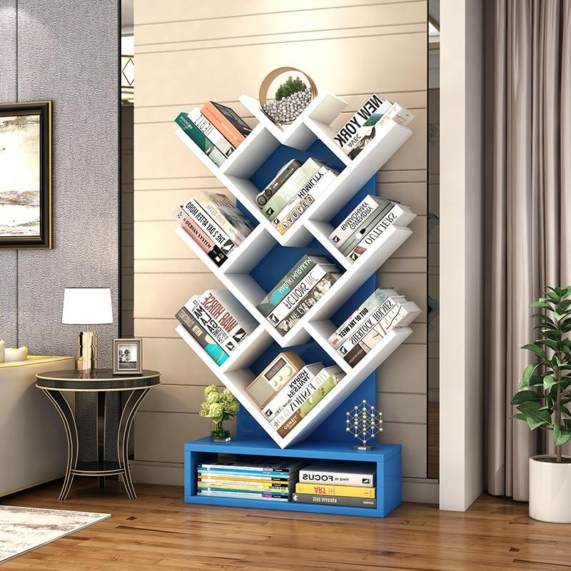 Louis Fashion Bookcases Shelf Simple Modern Creative Bookshelf For