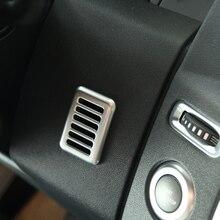 Хром Интерьер аксессуар микрофон Рамки Накладка для Land Rover Discovery 4 2010-2016, стайлинга автомобилей